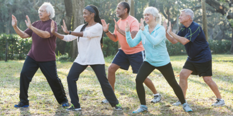adults exercising