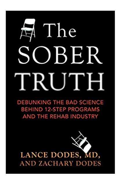 Book titled The Sober Truth