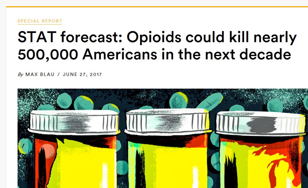STAT opioid deaths