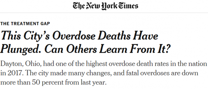 Dayton header NYT
