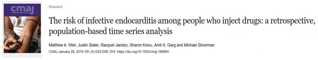Headline on infectious endocarditis