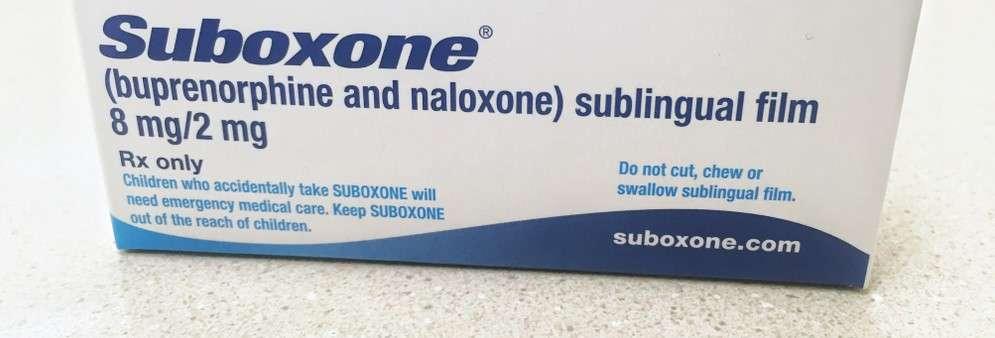 box containing Suboxone sublingual strips