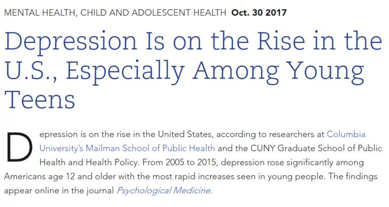 Depression rates 1
