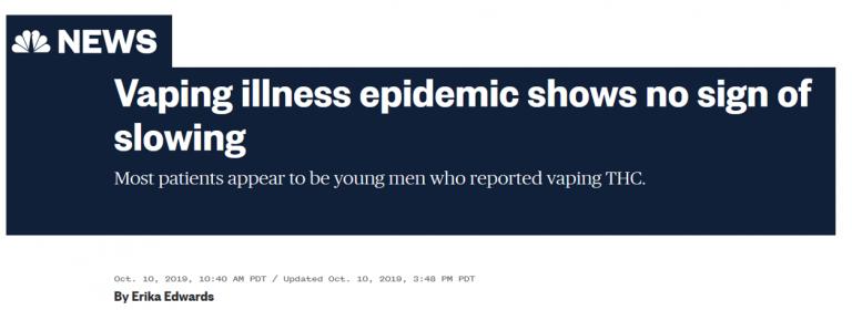 Vaping epidemic NBC comp