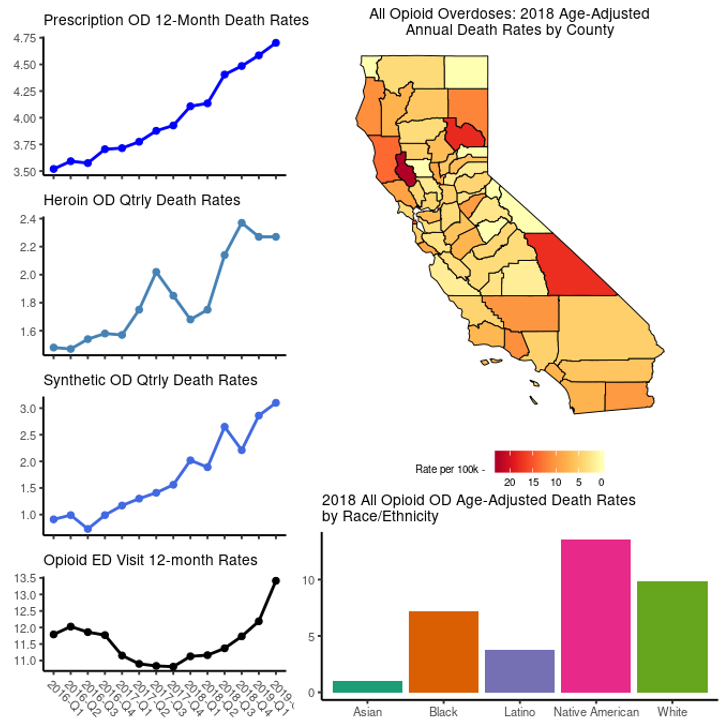 California trends in problem opioid use