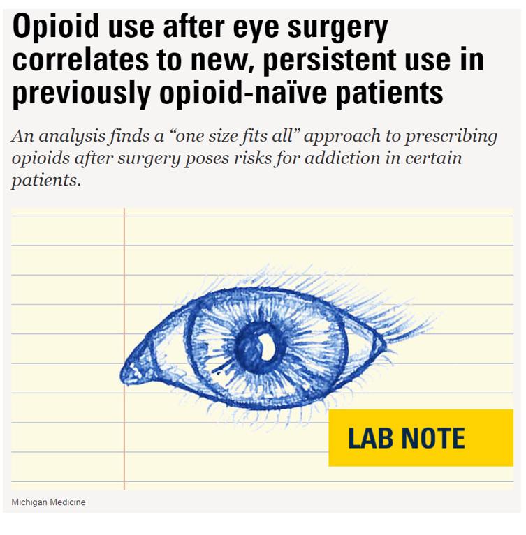 Headline about opioid over prescription