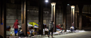 urban homeless camp